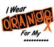 I Wear Orange 8 Multiple Sclerosis Shirts