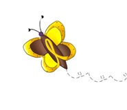 Butterfly 2 COLLECTION Childhood Cancer Apparel