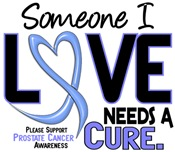Needs A Cure 2 PROSTATE CANCER T-Shirts & Gifts