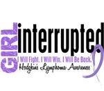 Girl Interrupted Hodgkin's Lymphoma T-Shirts Gear