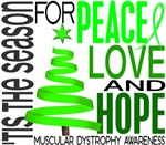 Christmas 1 Muscular Dystrophy Cards Ornaments Gif