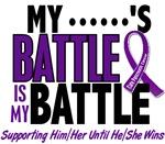 My Battle Too Pancreatic Cancer Shirts