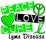 Peace Love Cure 1 Lyme Disease Merchandise