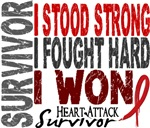 Survivor 4 Heart Attack Shirts and Gifts