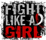 Fight Like a Girl 31.8 Oral Cancer Shirts