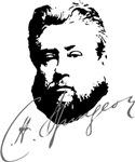 Charles Spurgeon Portrait with Signature