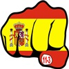 MADRID BOMBING SPAIN FLAG FIST