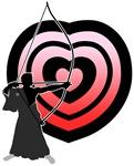 Kyudo heart-target 2