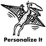 Personalized Pterodactyl