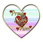 Proud Navy Mom Heart