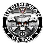 USN Engineman Skull EN