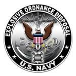 USN Explosive Ordnance Disposal Eagle EOD