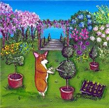 Corgi Master Gardener
