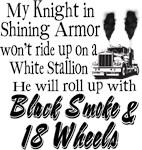 Black Smoke & 18 Wheels