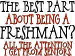 Best Part of Being a Freshman