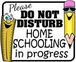 Homeschooling - Do Not Disturb