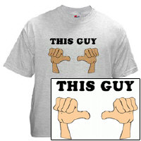 Who's Got Two Thumbs...This Guy T-Shirt