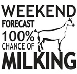 Oberhasli Dairy Goat Weekend Forecast
