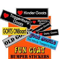 Goat Fun BumperStickers