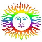 Rainbow Sun T-Shirts & Gifts