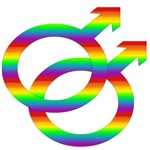 Rainbow Gay Pride Symbol T-Shirts & Gifts