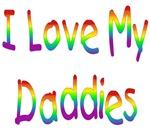 I Love My Daddies (Rainbow) Baby Wear & Gifts