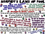 Murphy's Laws of Pool