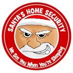 Santa Claus Home Security