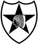 2nd Infantry stencil