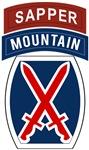 10th Mountain Sapper