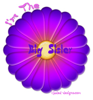 I'm The Big Sister Purple Daisy Shirts and More