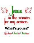 Jesus Is The Reason For The Season Chistmas Shirt