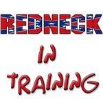 Redneck in training shirt