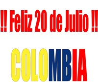 20 de Julio - Colombia independence day