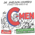 Dr Sheldon Cooper C-Men T-Shirts