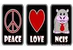 PEACE LOVE NCIS DESIGNS