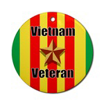 Vietnam Veteran Christmas Ornaments
