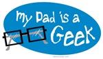 My Dad's A Geek - Blue