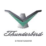 T Bird Emblem with Script