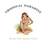 Tropical Paradise Island Girl 1