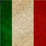 Faded Italian Flag