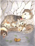Wolf Prints & posters and artwork