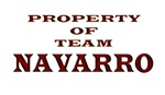 Property of team Navarro