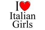 I Love (Heart) Italian Girls