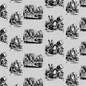 Vintage Alice Toile Pattern