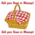 Personalized Picnic Basket Graphic