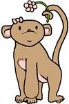 Girl Monkey T-shirts