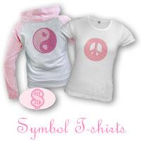 Pink Sign & Symbol T-shirts