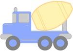 Little Cement Truck T-shirts
