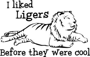 I Liked Ligers Before They Were Cool